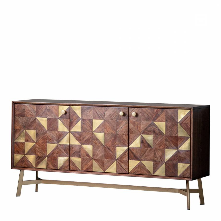 Tate 3 Door Sideboard – Brandalley Within Most Up To Date Tate Sideboards (View 14 of 20)