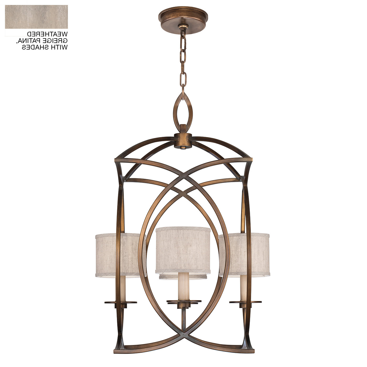 Taya 4 Light Lantern Square Pendants Inside Widely Used Cienfuegos 4 Light Lantern Geometric Pendant (View 17 of 20)