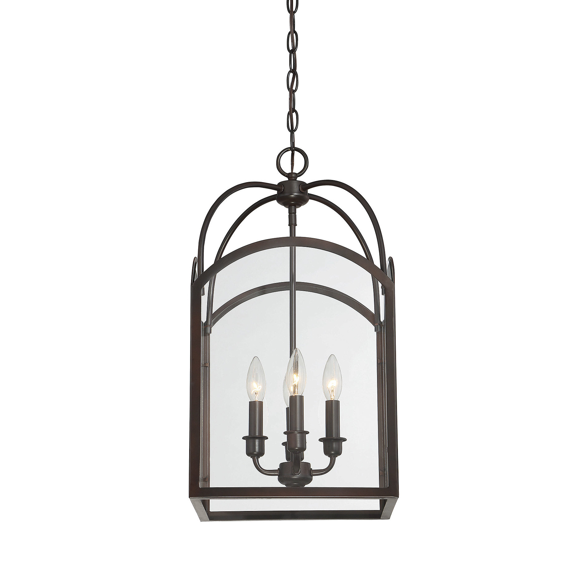 Taya 4 Light Lantern Square Pendants Intended For Well Known Mount Airy 4 Light Lantern Geometric Pendant (View 9 of 20)