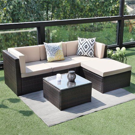 Teak Garden Furniture, Sectional Pertaining To Newest Larsen Patio Sectionals With Cushions (View 14 of 20)