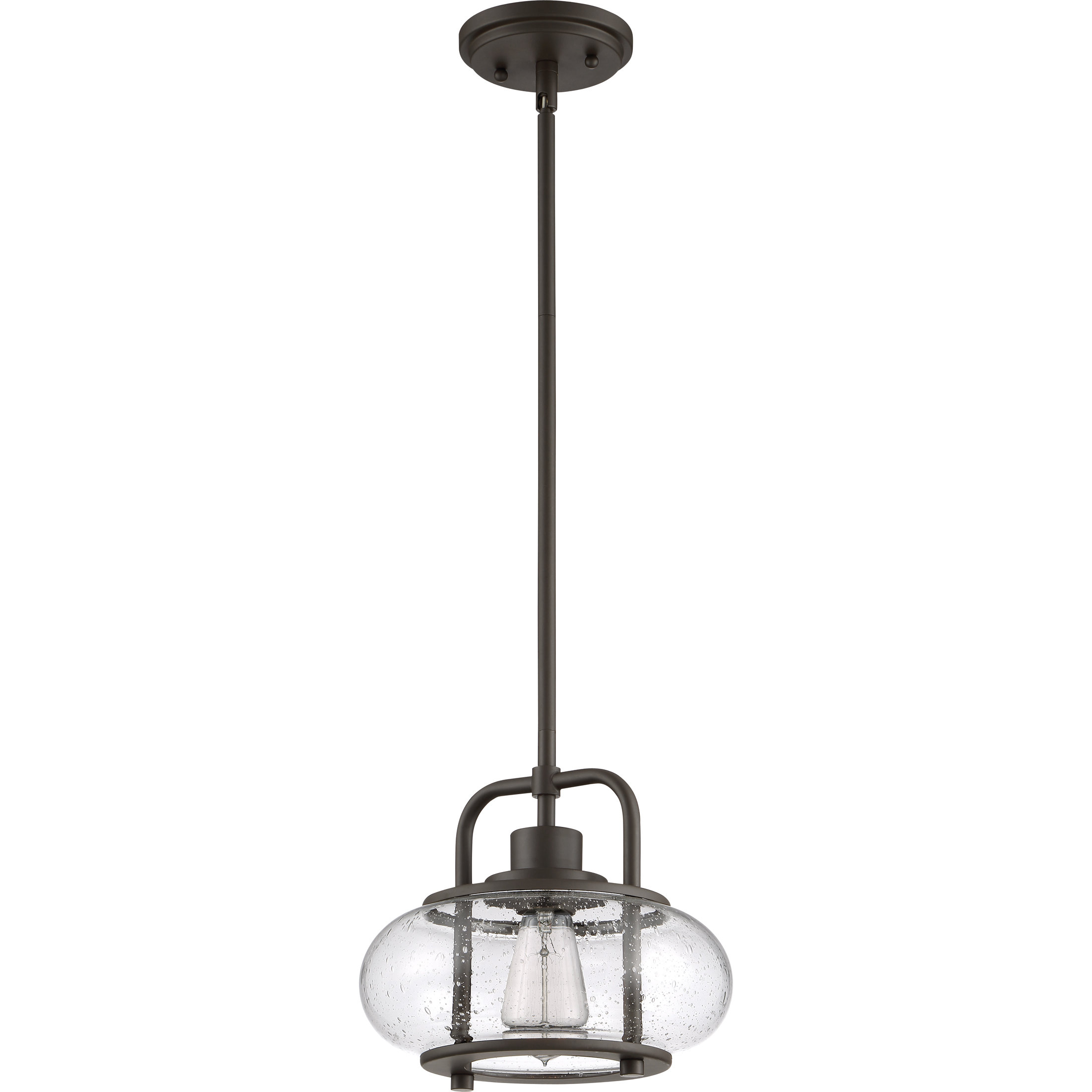 Terry 1 Light Single Bell Pendants Throughout Newest Braxton 1 Light Single Schoolhouse Pendant (View 20 of 20)