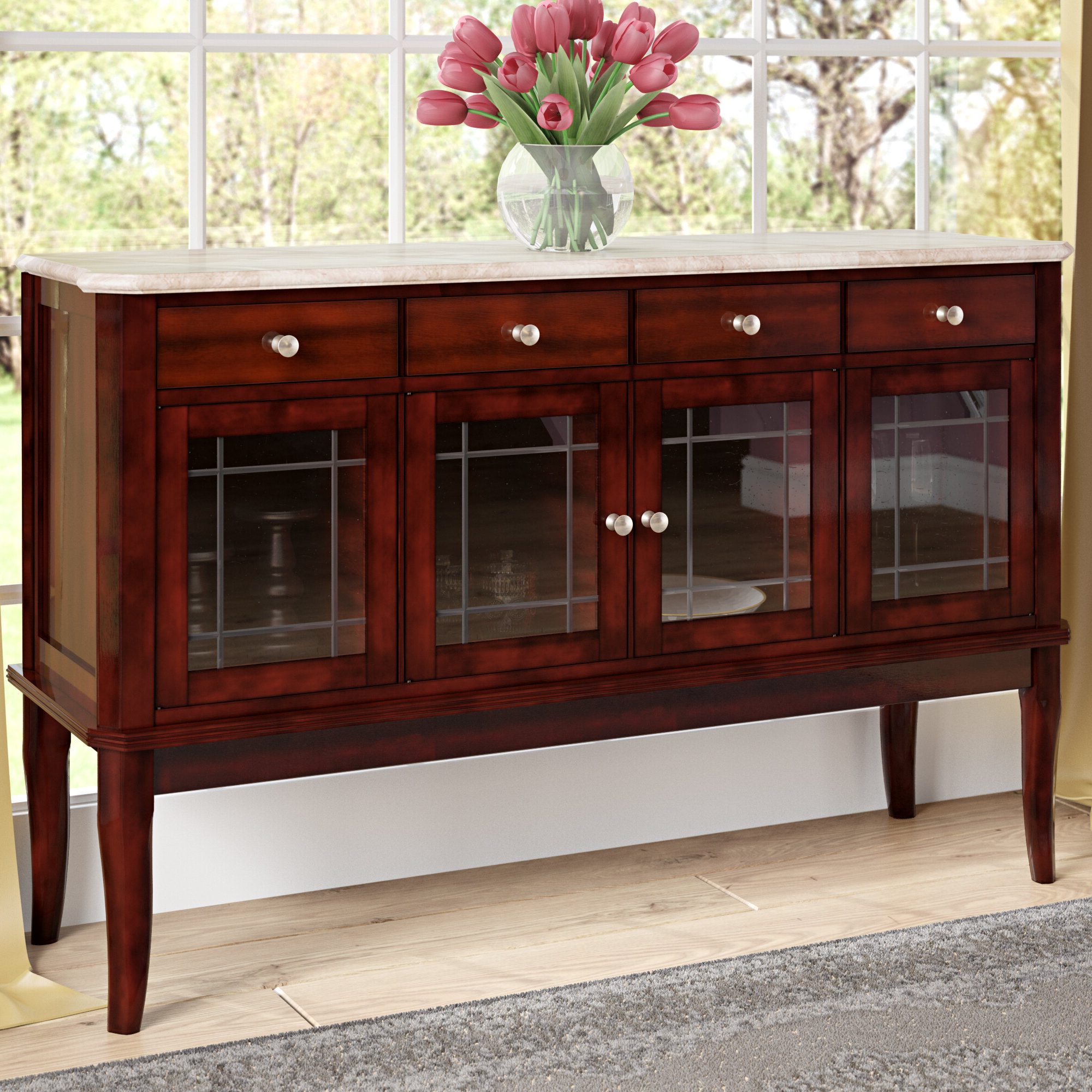 Thatcher Sideboards Within Newest Swenson Buffet Table (View 12 of 20)