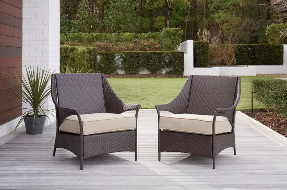 The Best Pre Memorial Day Deals On Patio Furniture At Wayfair In Best And Newest Carrasco Patio Daybeds With Cushions (View 11 of 20)