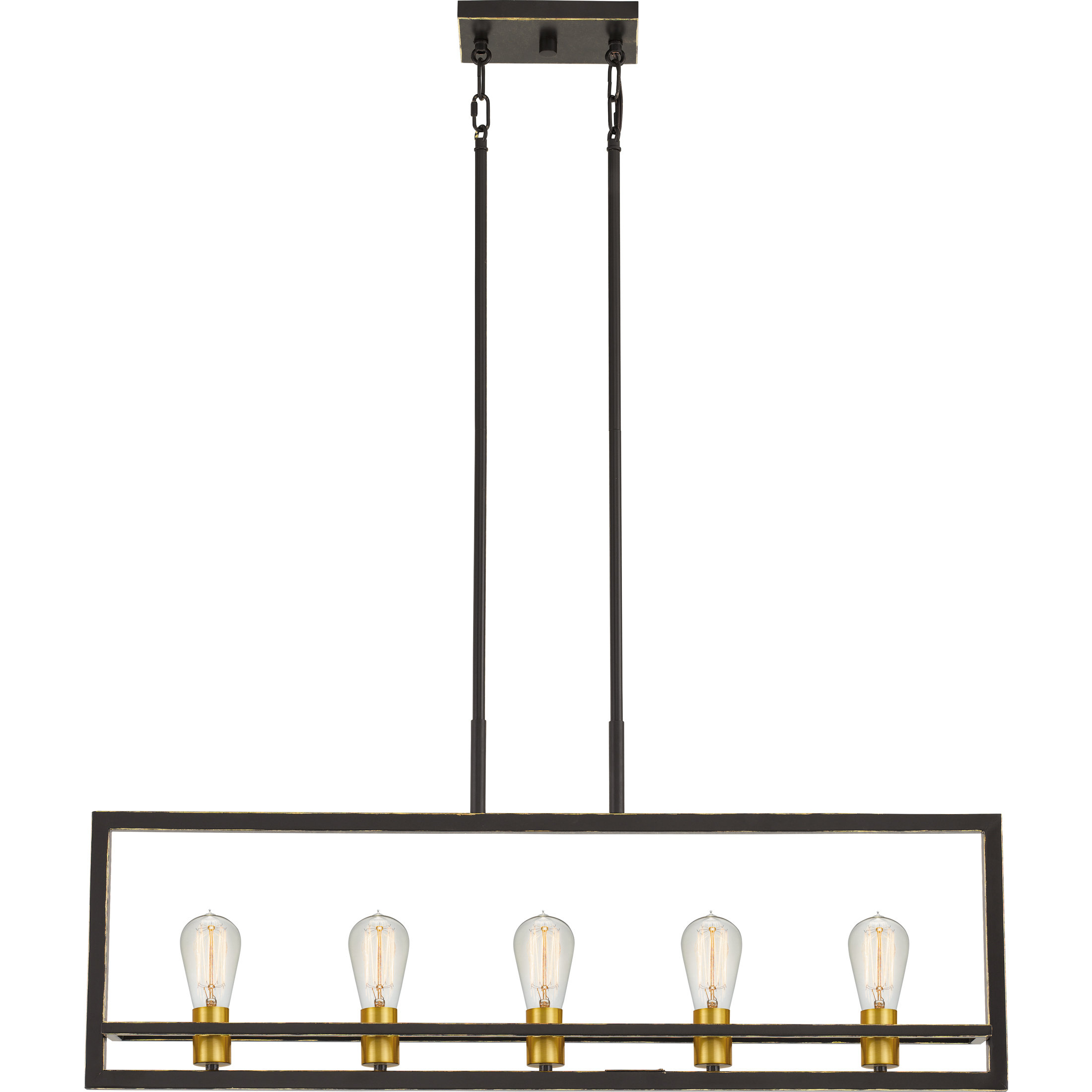 Theophania 5 Light Square/rectangle Chandelier With Regard To Well Liked Tabit 5 Light Geometric Chandeliers (View 16 of 20)