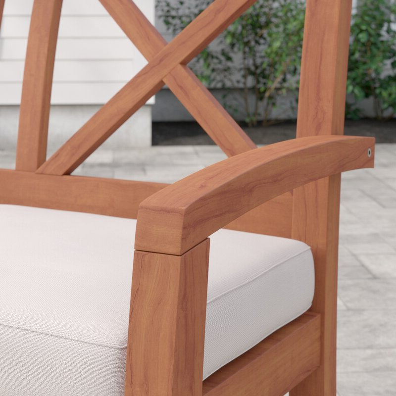 Tim X Back Patio Loveseats With Cushions For Famous Tim X Back Patio Loveseat With Cushions (View 14 of 20)