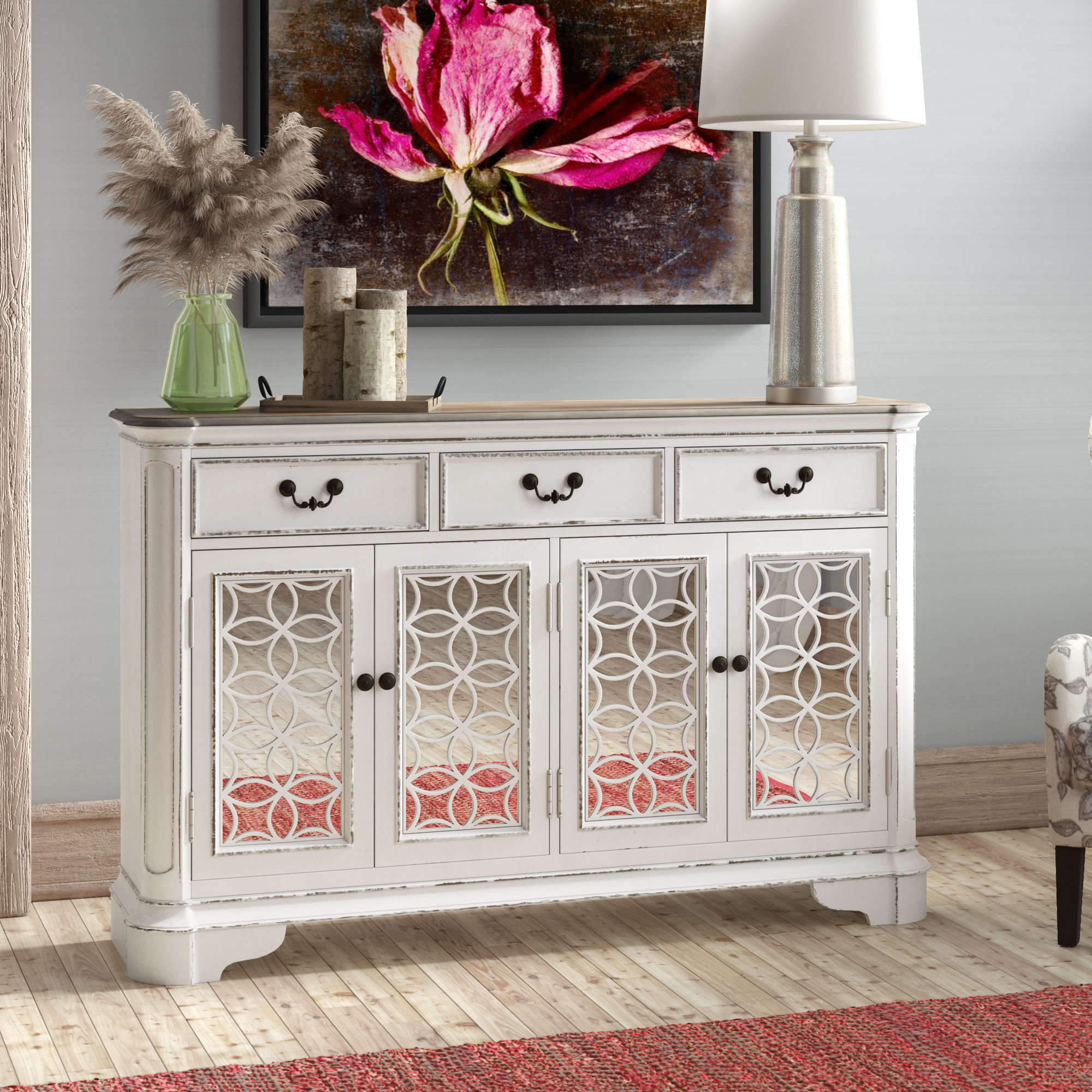 Tiphaine Sideboard Throughout Most Popular Raquette Sideboards (View 18 of 20)