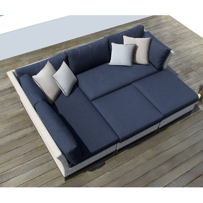Torrance Patio Sectional With Cushions Pertaining To Latest Paloma Sectionals With Cushions (View 10 of 20)