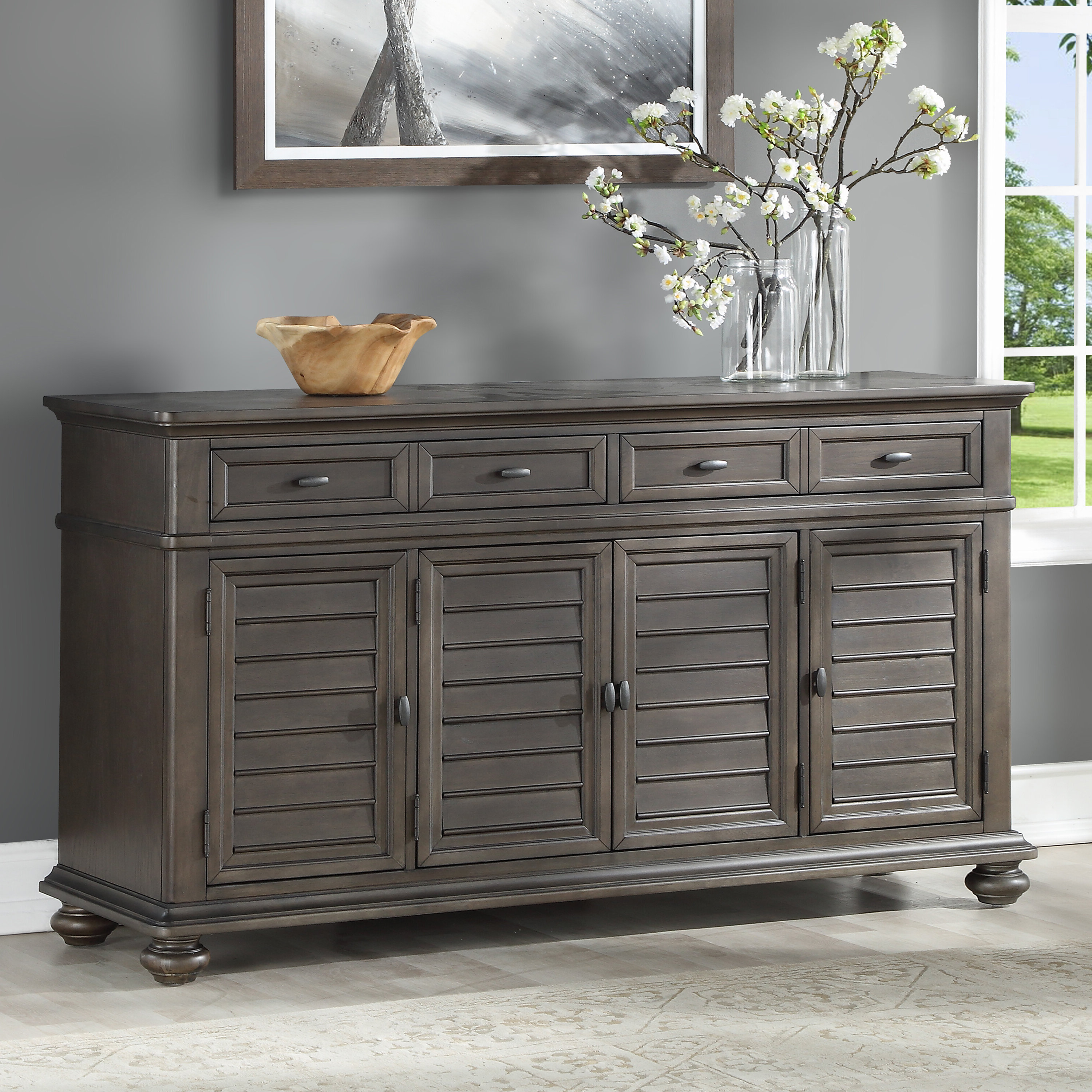 Trendy Baleine 3 Drawer Sideboards With Regard To Sykes Sideboard (View 18 of 20)