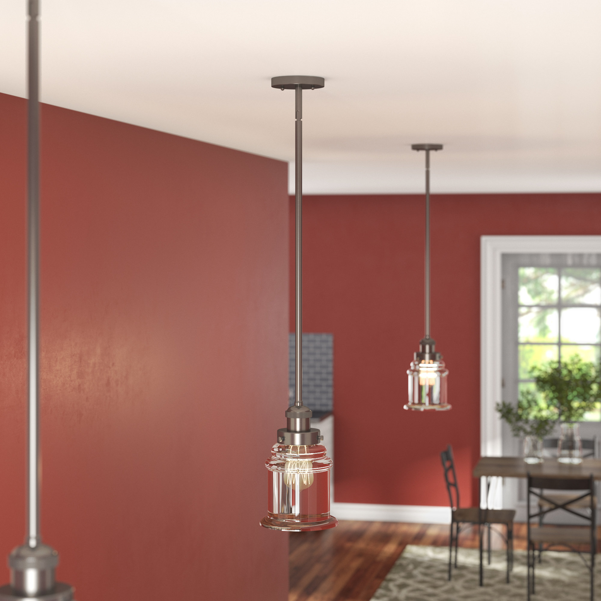 Trendy Bryker 1 Light Single Bulb Pendants Inside Greeley 1 Light Single Bell Pendant (View 17 of 20)