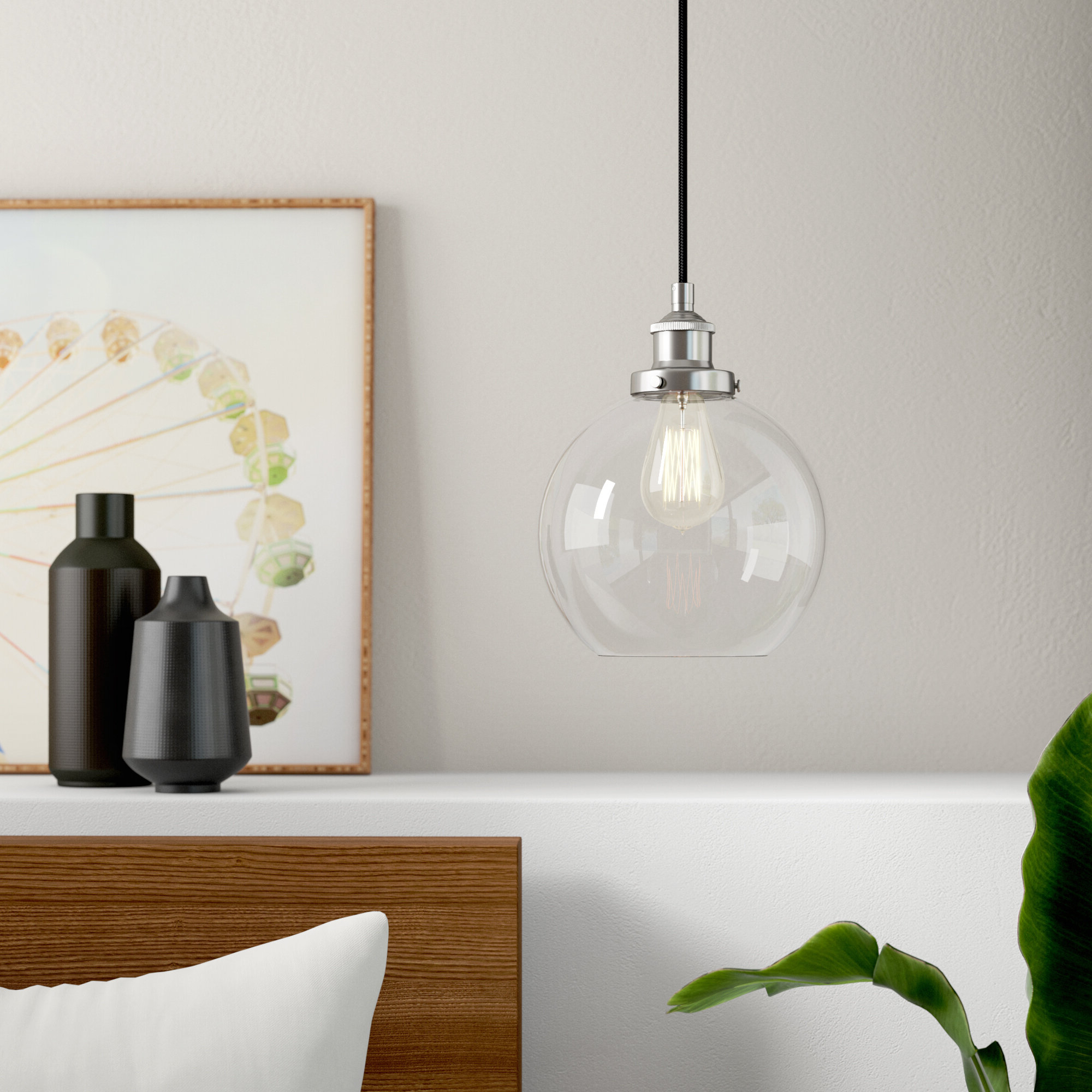 Featured Photo of Bundy 1 Light Single Globe Pendants