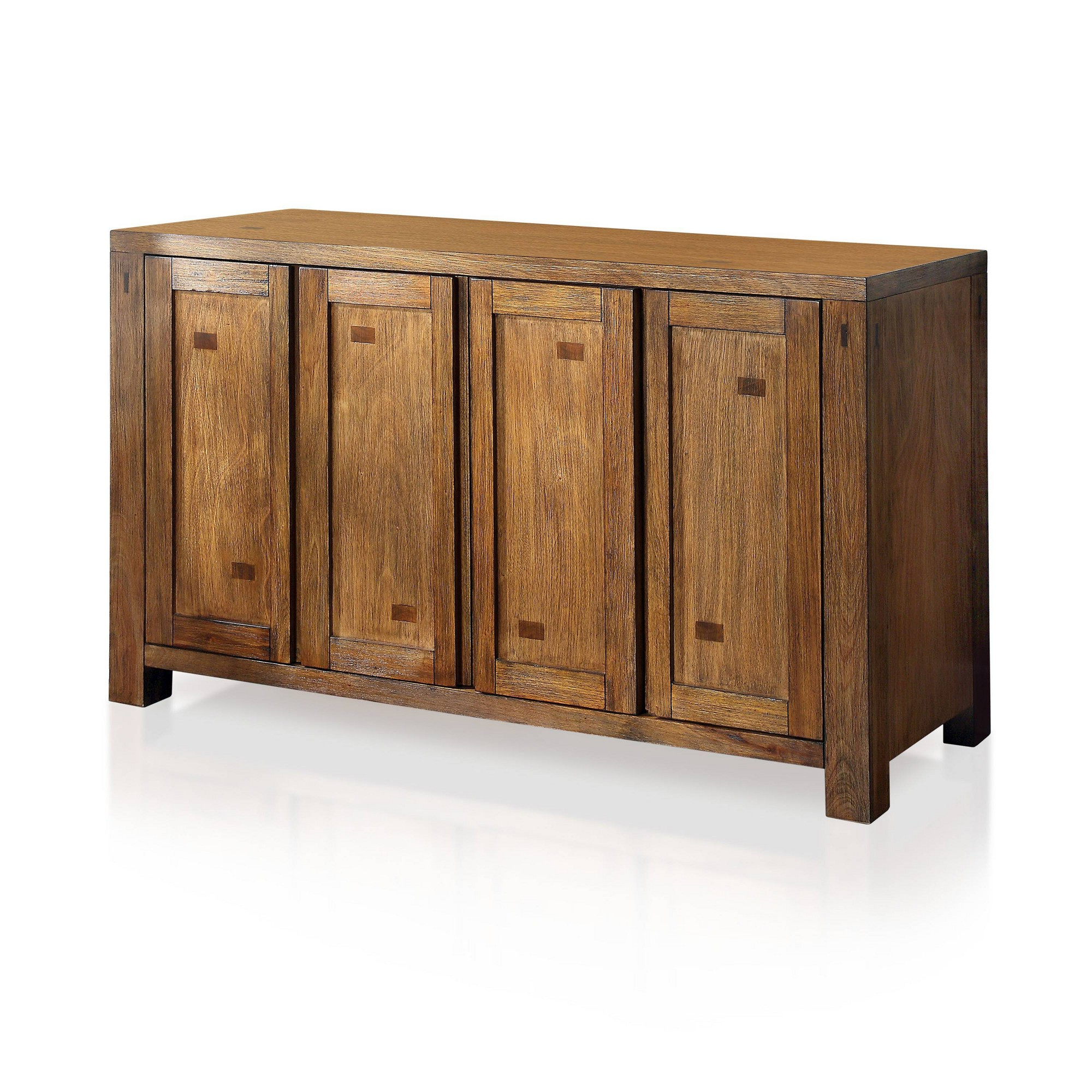 Trendy Dillen Sideboards Pertaining To Morrison Dining Buffet Dark Oak – Sun & Pine, Brown (View 16 of 20)