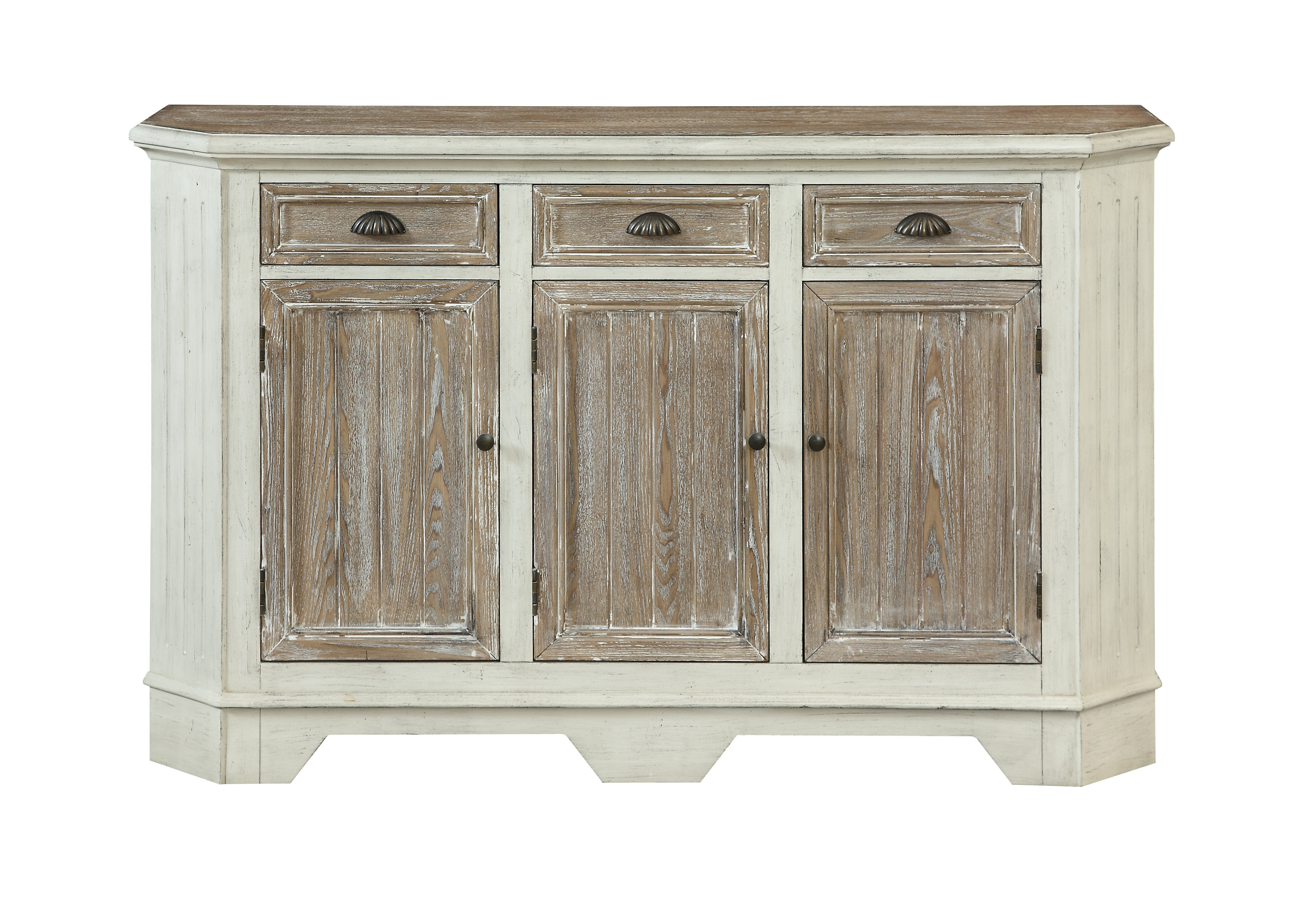 Trendy Drummond 3 Drawer Sideboards Pertaining To Highland Dunes Funkhouser 3 Door 3 Drawer Sideboard (View 17 of 20)