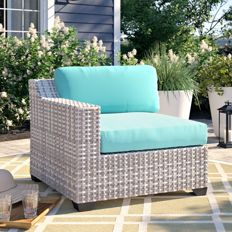 Trendy Falmouth Patio Loveseat With Cushions With Regard To Falmouth Loveseats With Cushions (View 5 of 20)