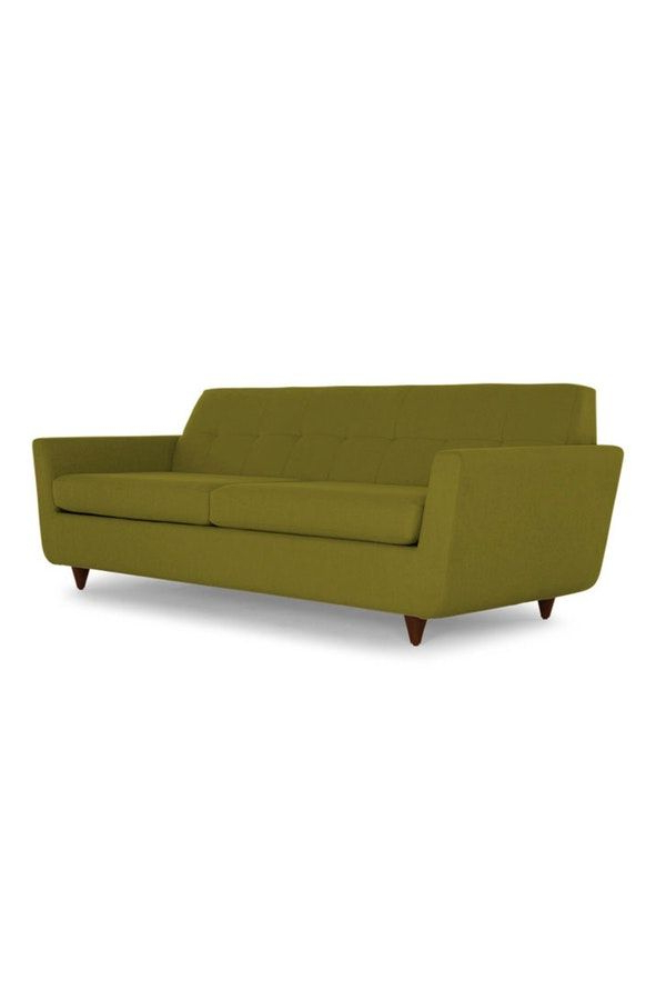 Trendy Hughes Sleeper Sofa For Waterbury Curved Armless Sofa With Cushions (View 13 of 20)