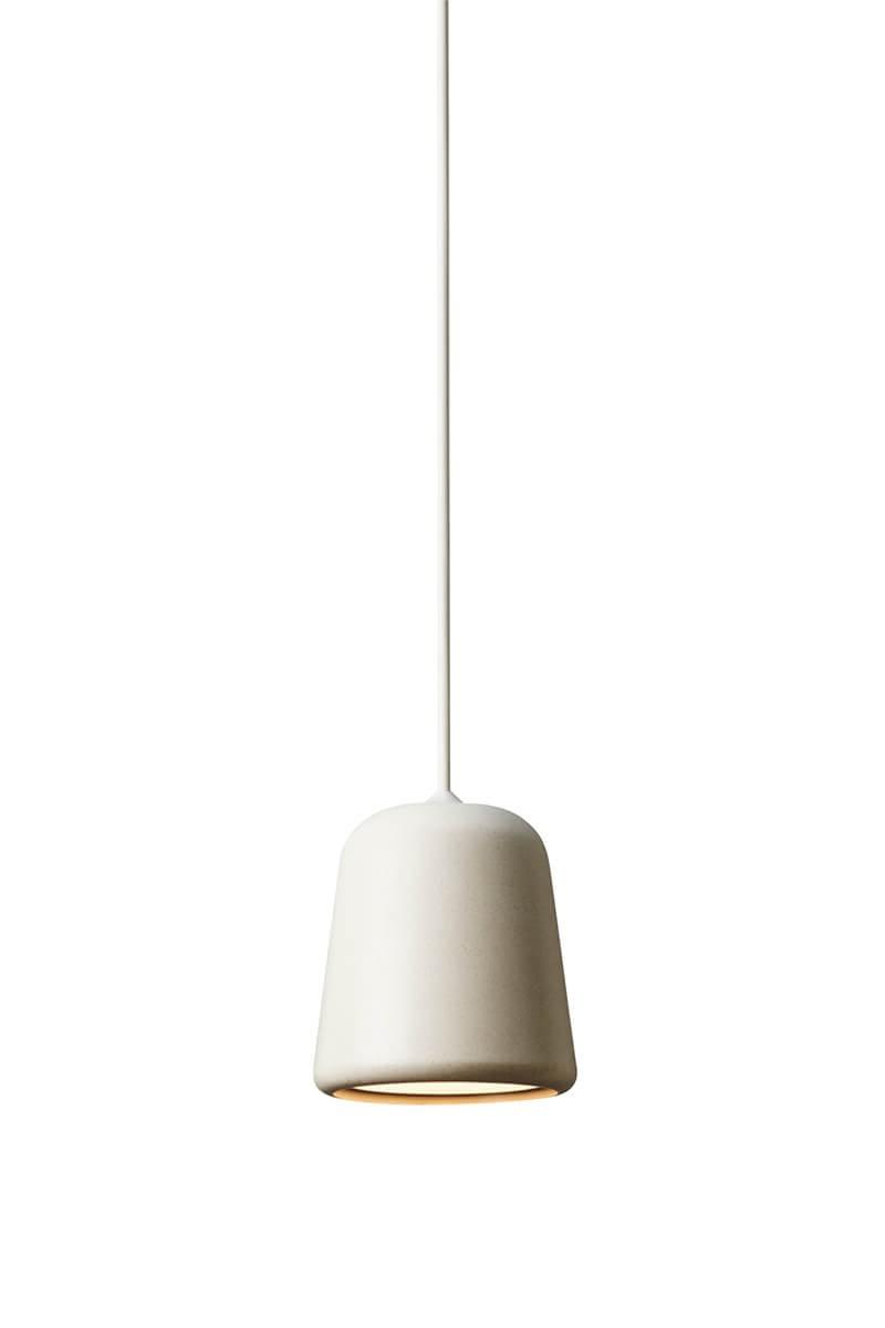 Trendy Lámpara Material Pendant Light Grey Concrete For Guro 1 Light Cone Pendants (View 17 of 20)
