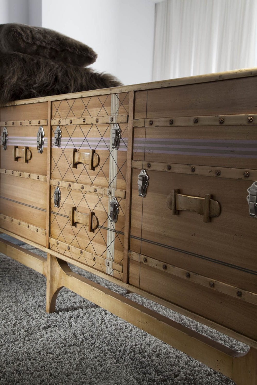 Trendy Lola Sideboards Inside Contemporary Sideboard / Wooden / Custom – Suitcase: Ltv (View 17 of 20)