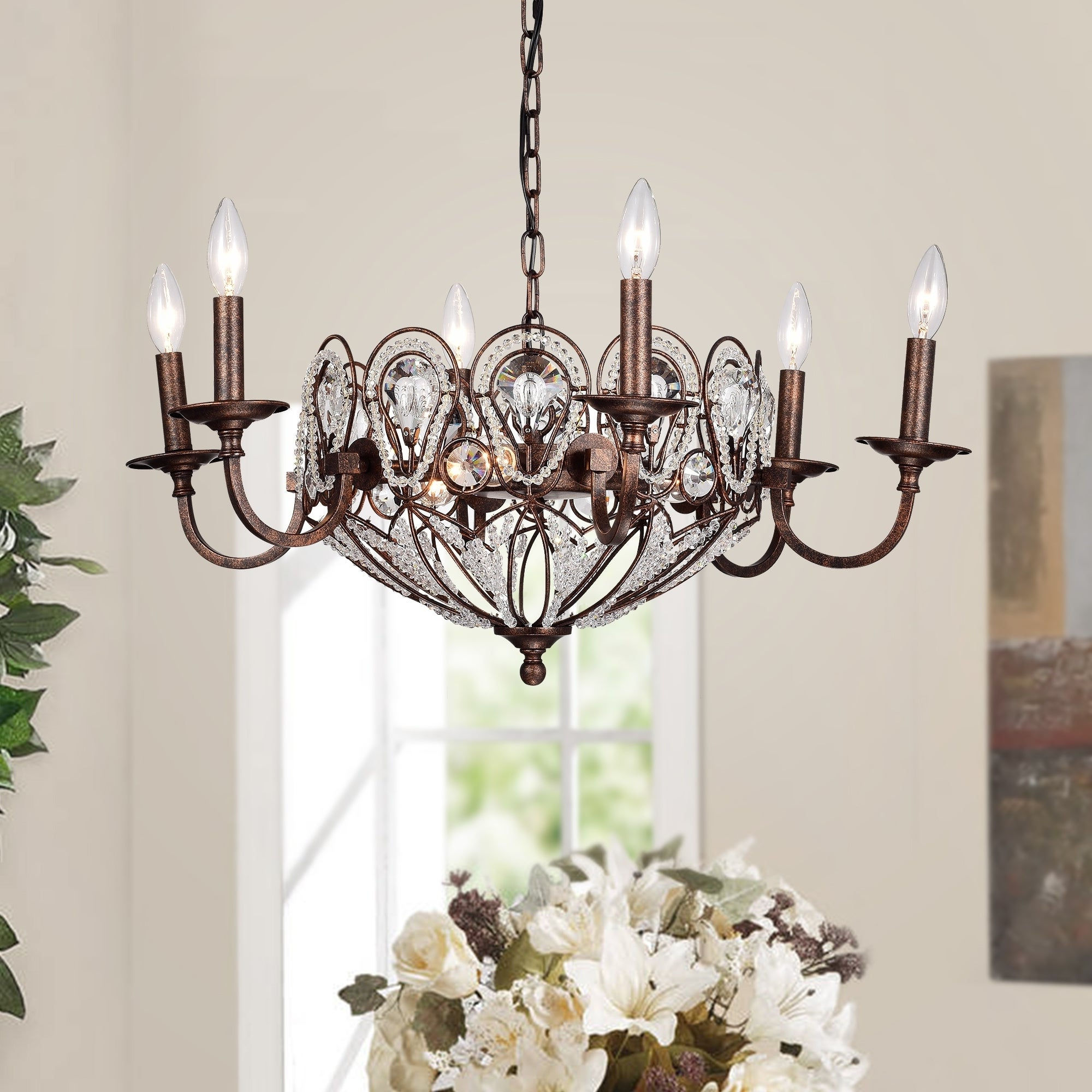 Trendy Mcknight 9 Light Chandeliers With 9 Light Crystal Chandelier – Robotena (View 16 of 20)