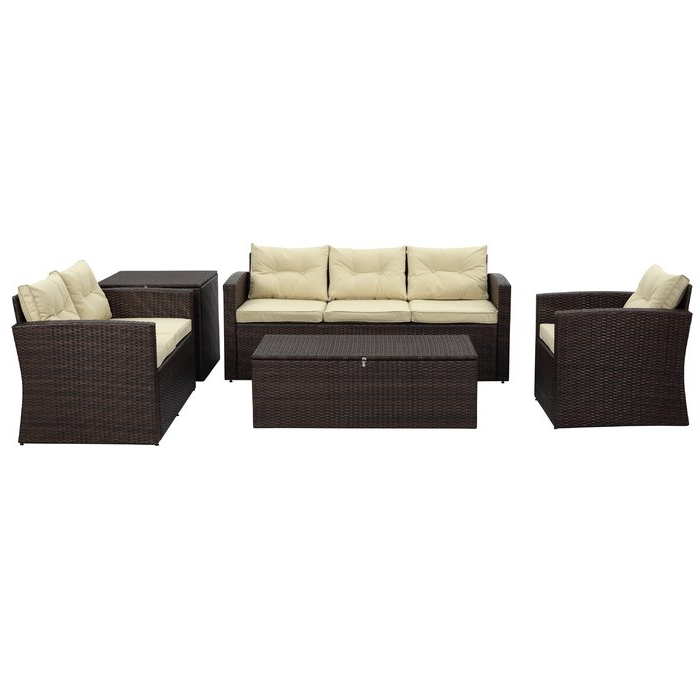 Trendy Owens Loveseats With Cushion For Owen 5 Piece Sofa Seating Group With Cushions (View 17 of 20)