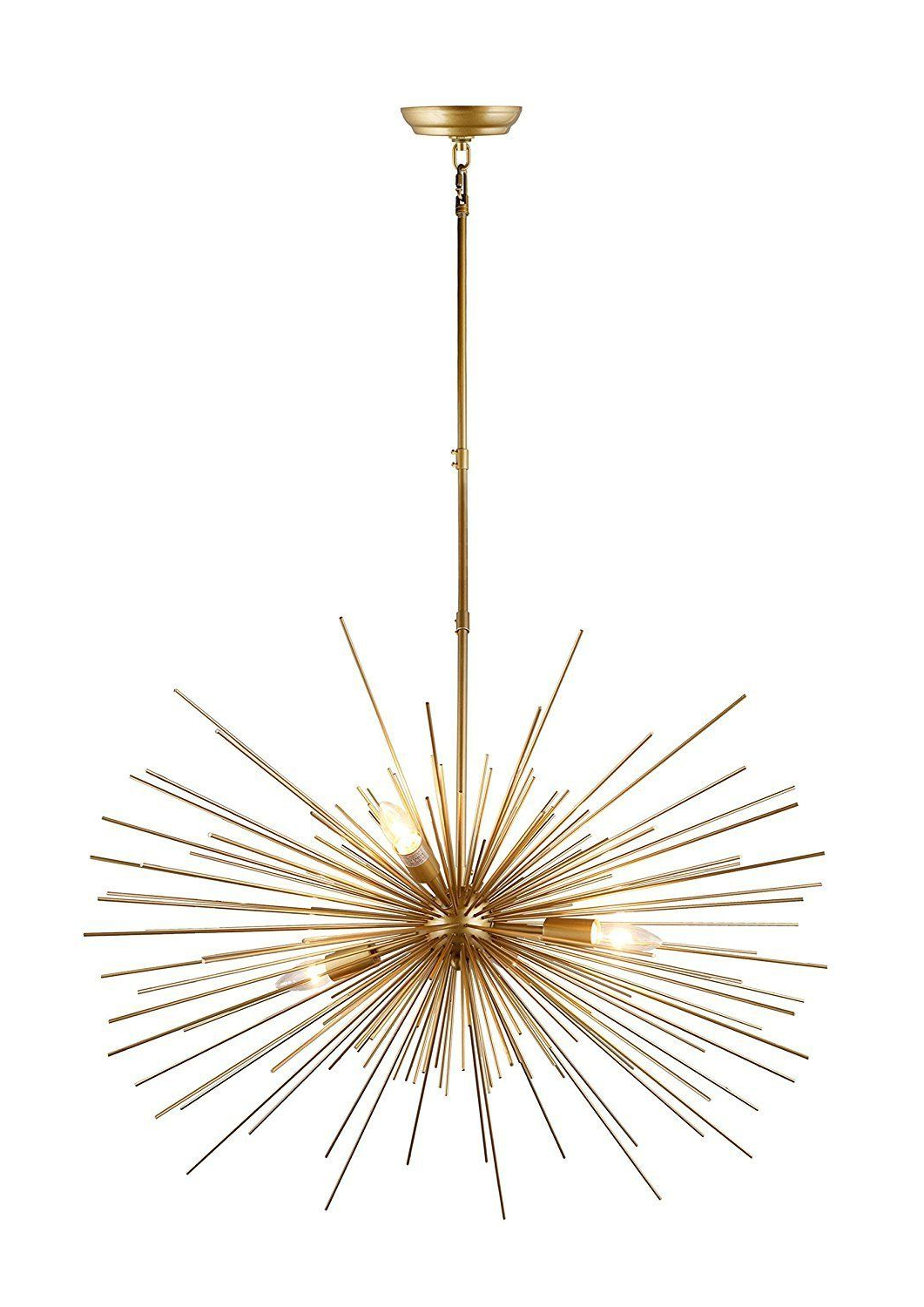 Trendy Pin On Lighting/foyer Inside Nelly 12 Light Sputnik Chandeliers (View 16 of 20)