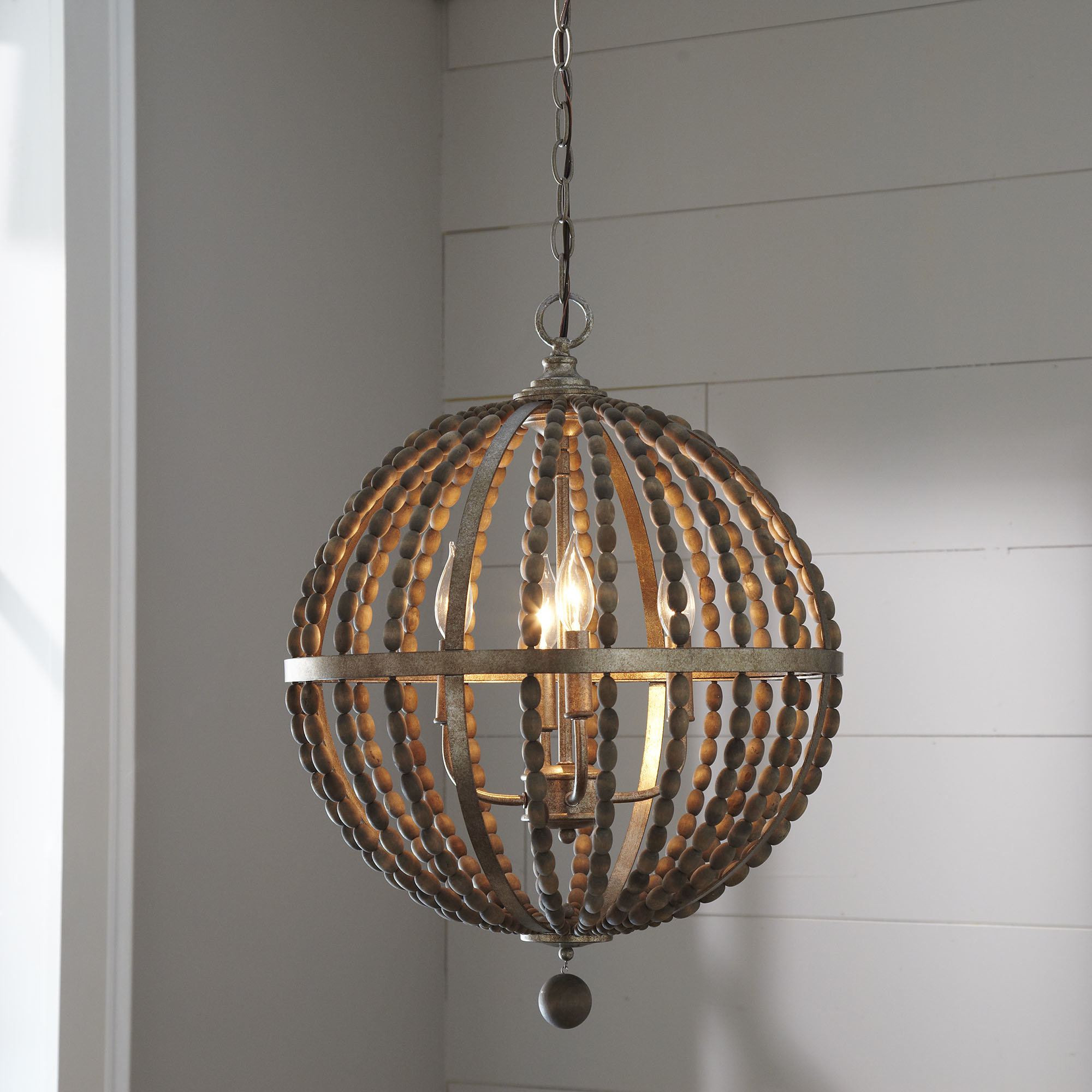 Trendy Ricciardo 4 Light Globe Chandeliers For Badgett 4 Light Globe Chandelier (View 20 of 20)