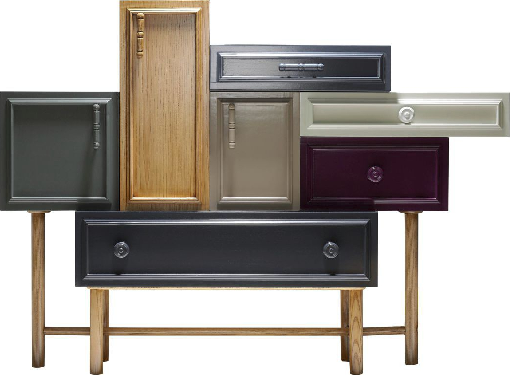 Trendy Sideboard With Long Legs / Contemporary / Lacquered Wood Pertaining To Lola Sideboards (View 18 of 20)