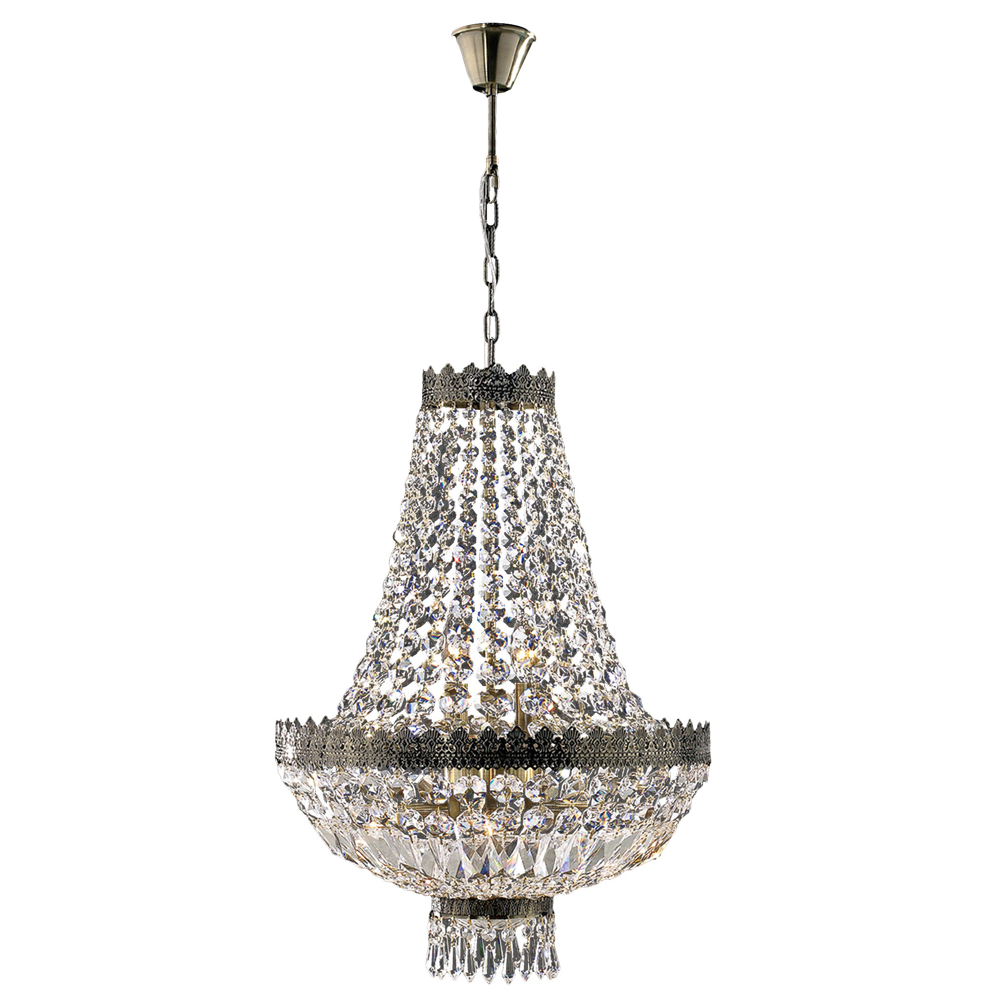 Trendy Spokane 1 Light Single Urn Pendants For Brimstone 1 Tier 6 Light Empire Chandelier (View 18 of 20)