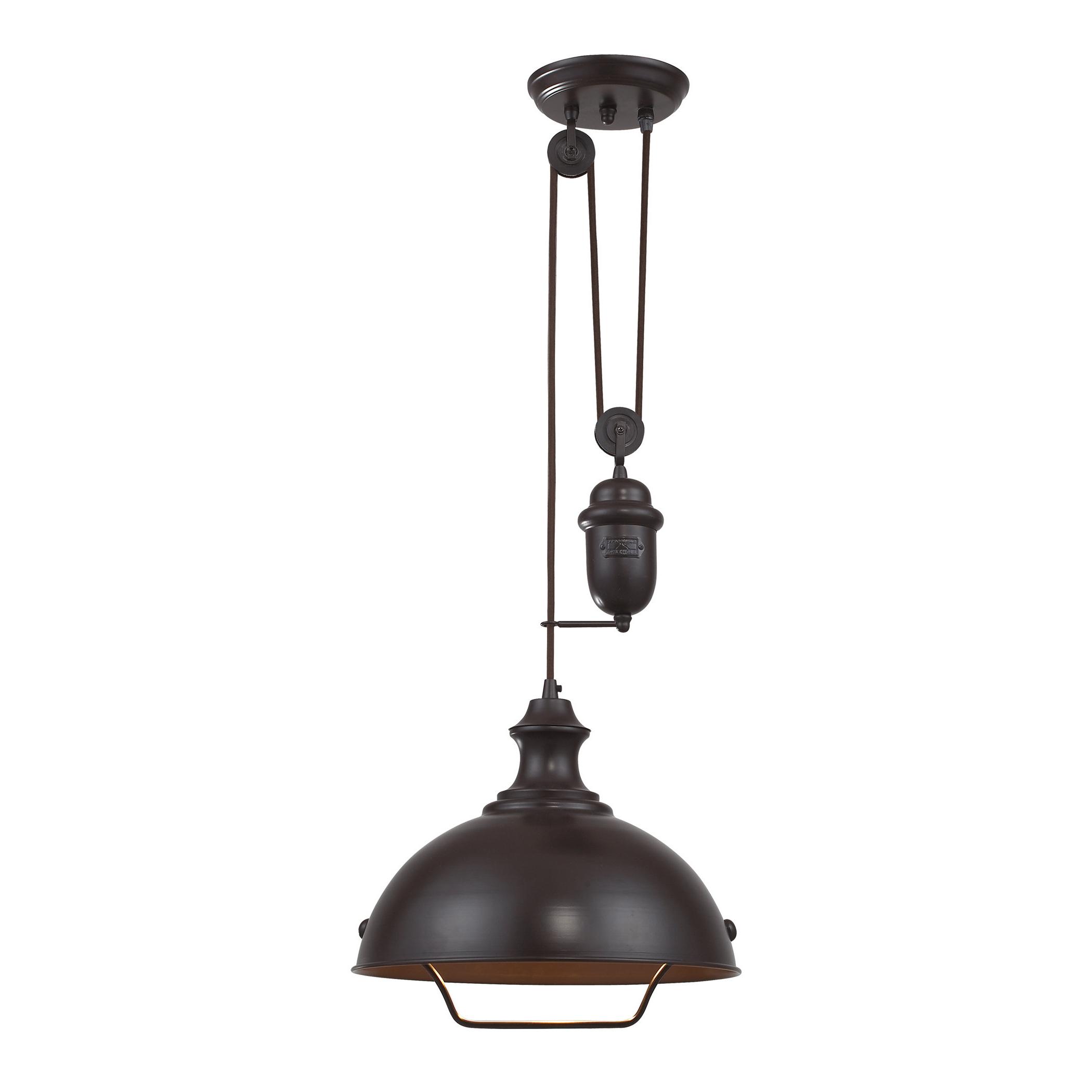 Trendy Stetson 1 Light Bowl Pendants Regarding Legrand 1 Light Single Dome Pendant (View 16 of 20)