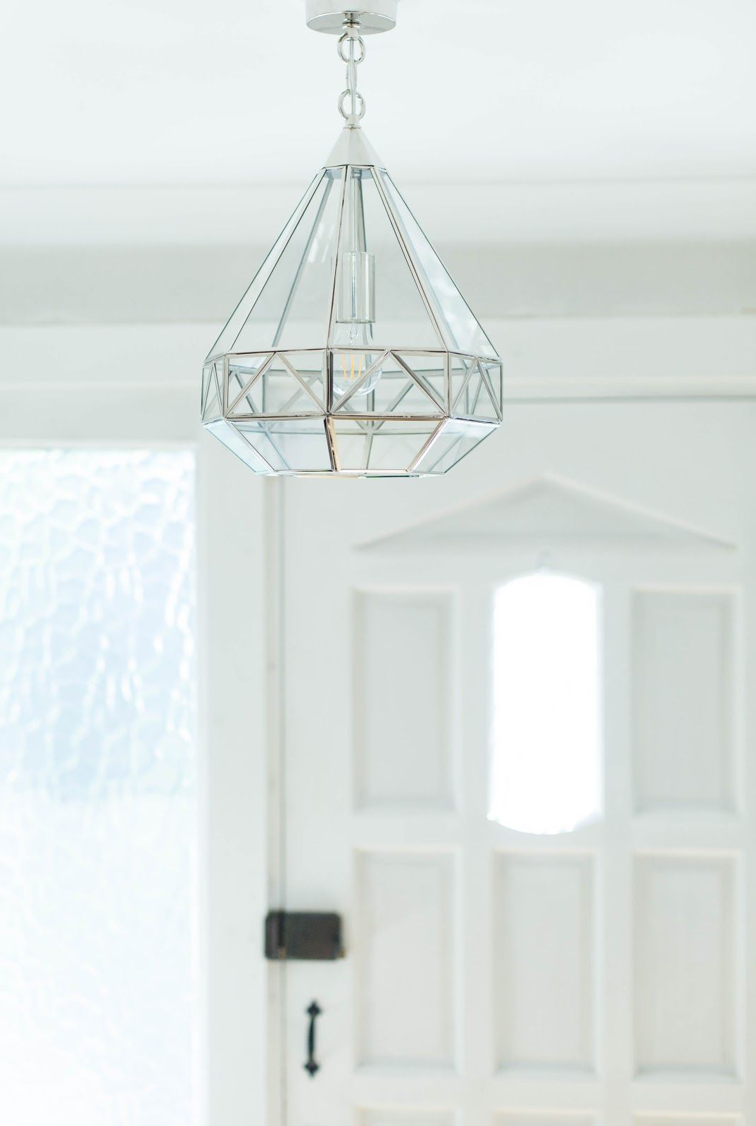 Trendy Tabit 5 Light Geometric Chandeliers With My Hall Make Over Part 2 – The Laura Ashley Blog (View 20 of 20)