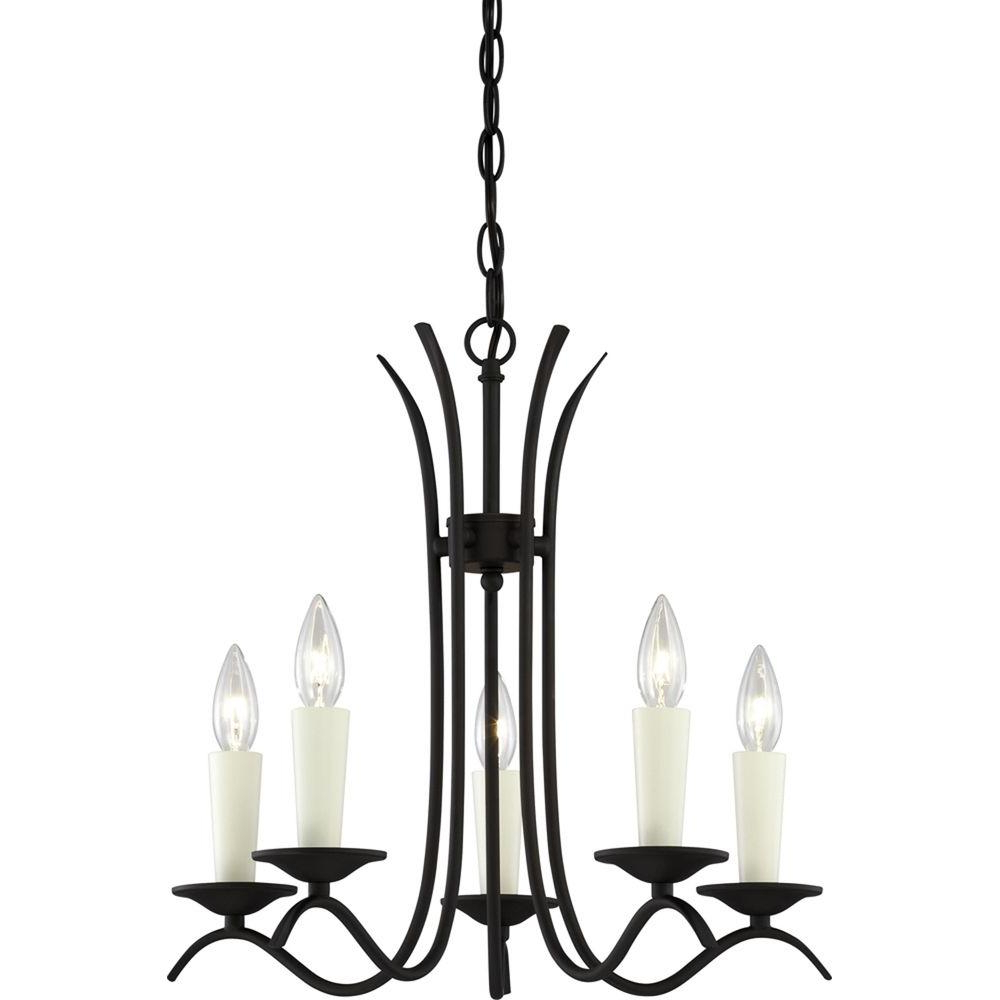 Trendy Volume Lighting Kuta 5 Light Antique Bronze Interior Chandelier With Regard To Kenedy 9 Light Candle Style Chandeliers (View 19 of 20)