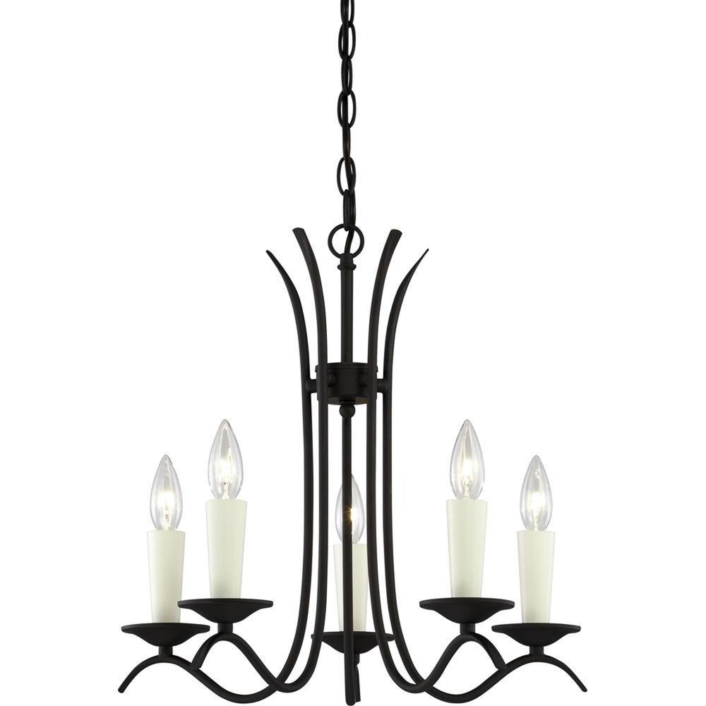 Trendy Volume Lighting Kuta 5 Light Antique Bronze Interior Chandelier With Regard To Kenedy 9 Light Candle Style Chandeliers (View 19 of 20)
