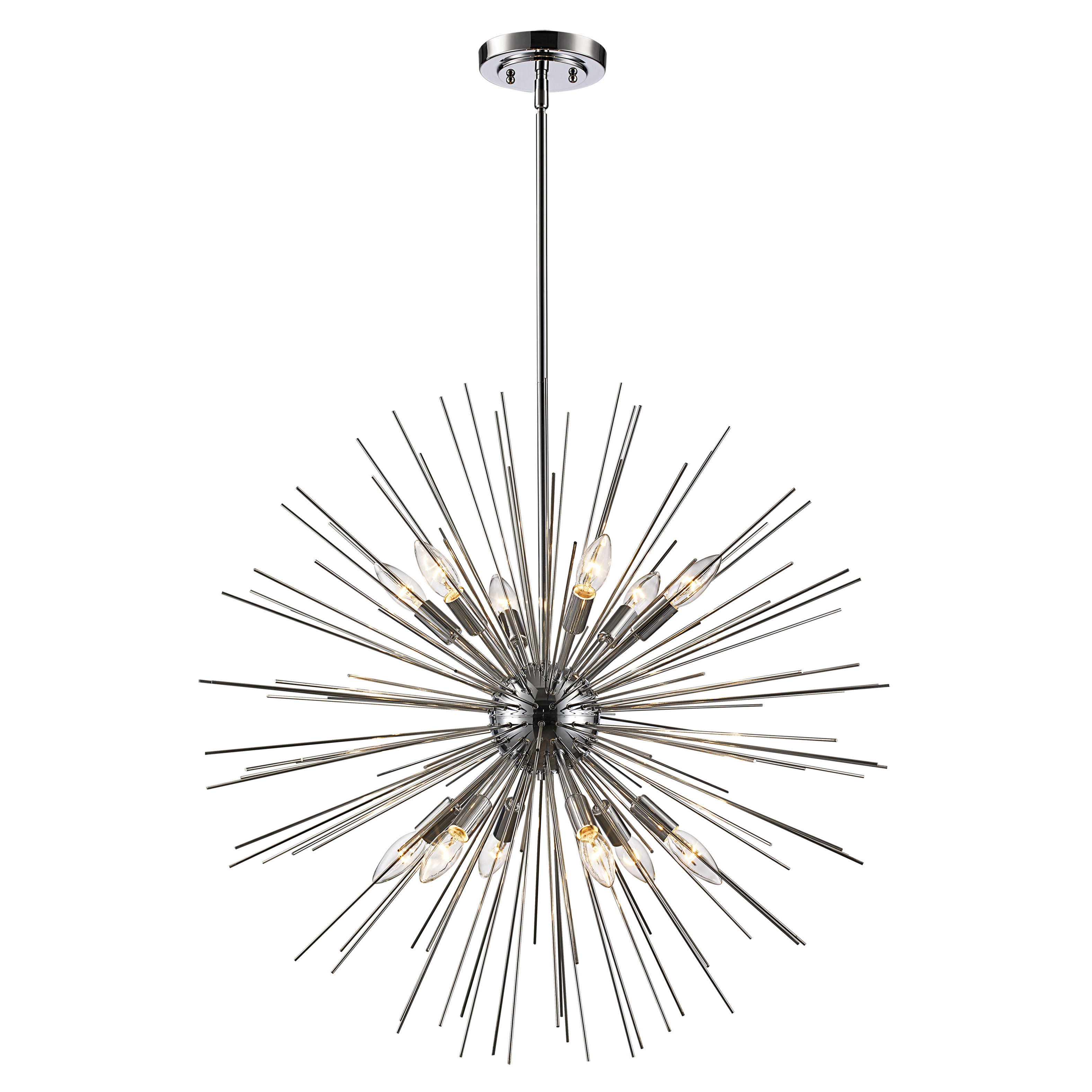 Trent Austin Design Antonie 12 Light Sputnik Chandelier Regarding Fashionable Bacchus 12 Light Sputnik Chandeliers (View 16 of 20)