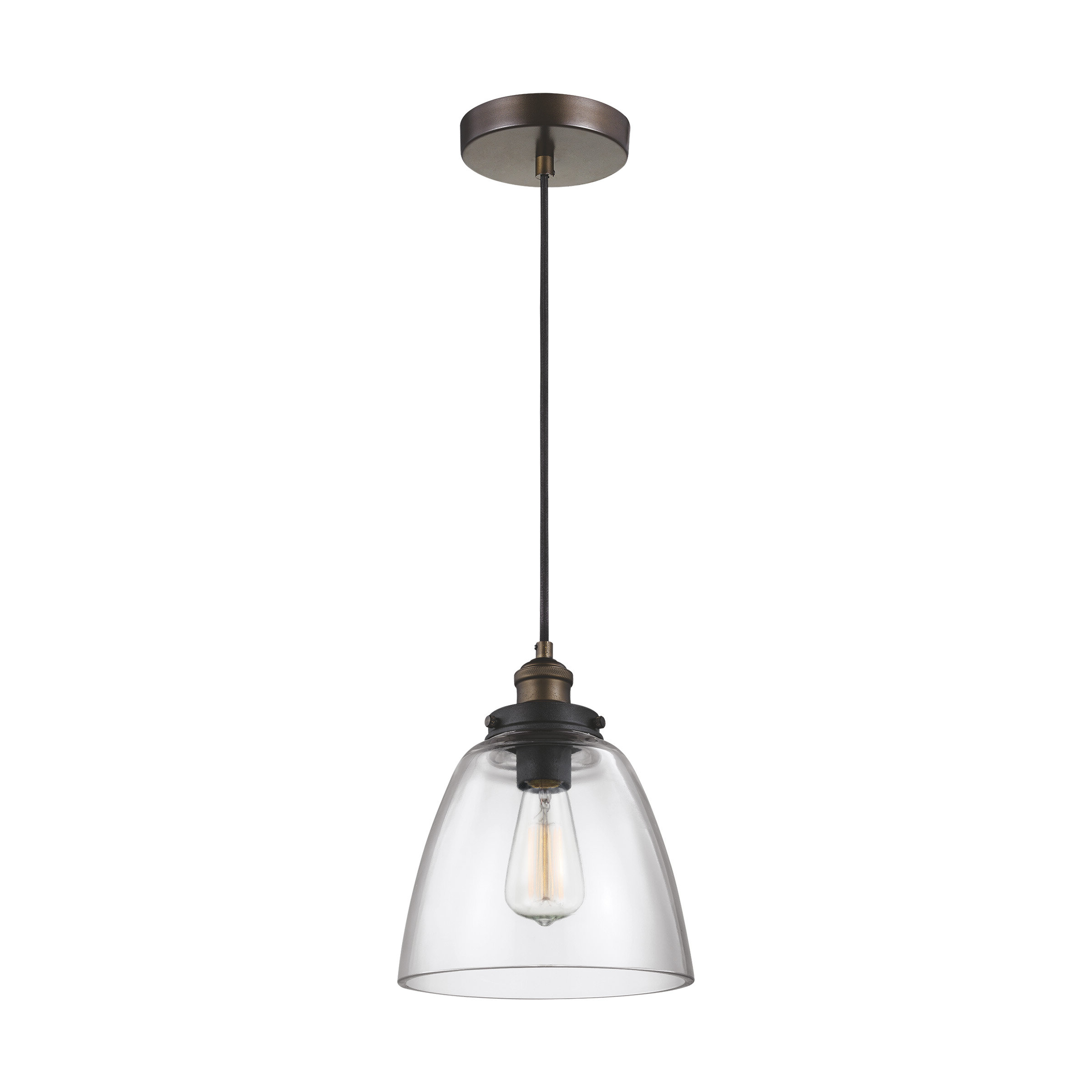 Trent Austin Design Bedford 1 Light Single Cone Pendant For Most Recently Released Goldie 1 Light Single Bell Pendants (View 14 of 20)
