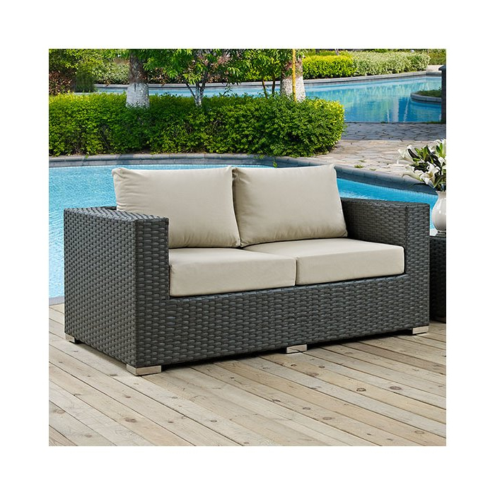 Featured Photo of Tripp Loveseats With Cushions