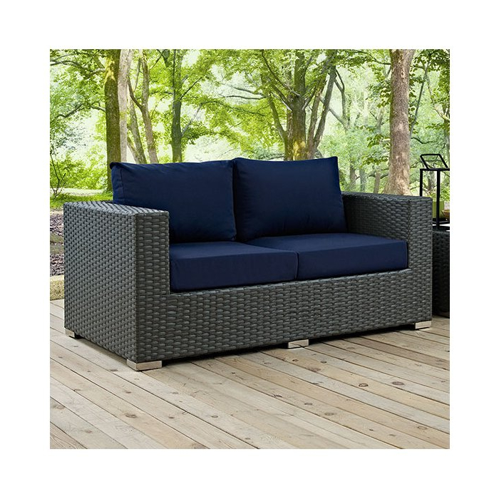 Tripp Loveseat With Cushions Regarding Fashionable Castelli Loveseats With Cushions (View 17 of 20)