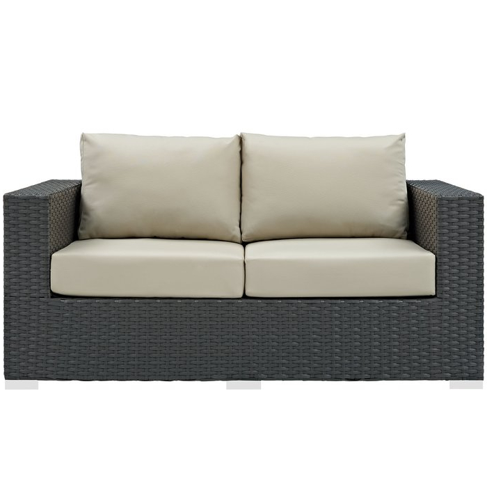 Tripp Loveseat With Cushions Regarding Most Recently Released Loggins Loveseats With Cushions (View 4 of 20)