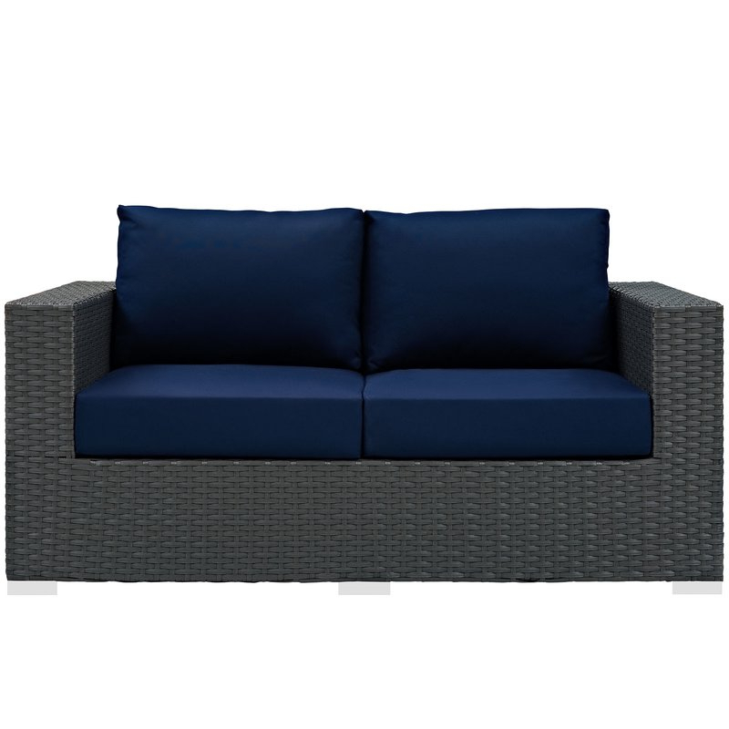 Tripp Loveseat With Cushions With Regard To 2020 Tripp Loveseats With Cushions (View 11 of 20)