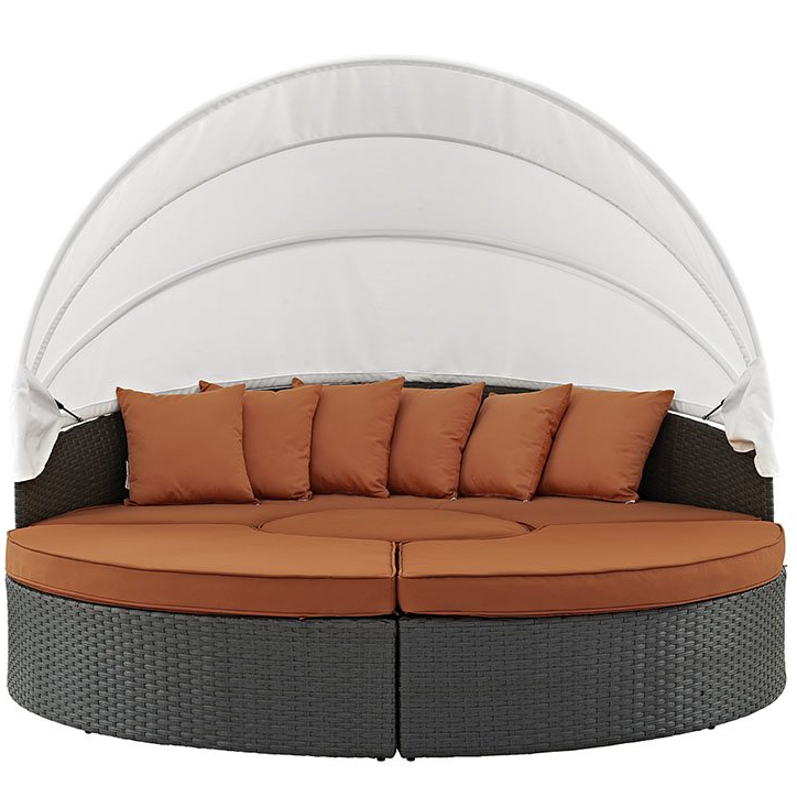 Tripp Patio Daybed With Sunbrella Cushions Throughout Popular Tripp Patio Daybeds With Cushions (View 14 of 20)