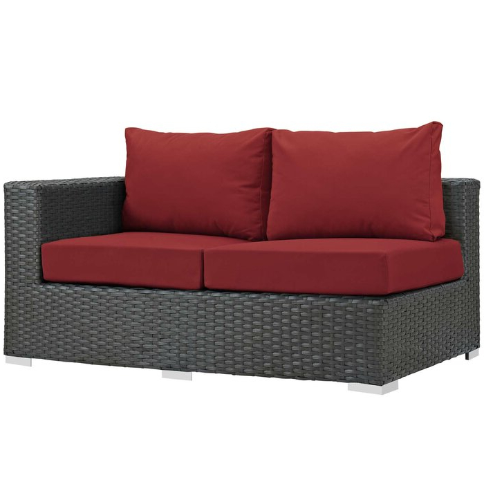 Tripp Right Arm Loveseat Sectional Piece With Cushions Inside Favorite Tripp Sofa With Cushions (View 12 of 20)