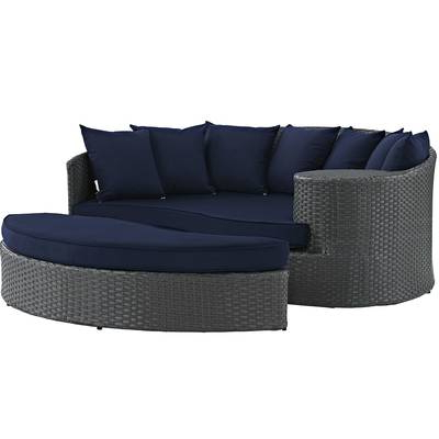 Tripp Sofa With Cushions In Trendy Tripp Patio Daybeds With Cushions (View 17 of 20)