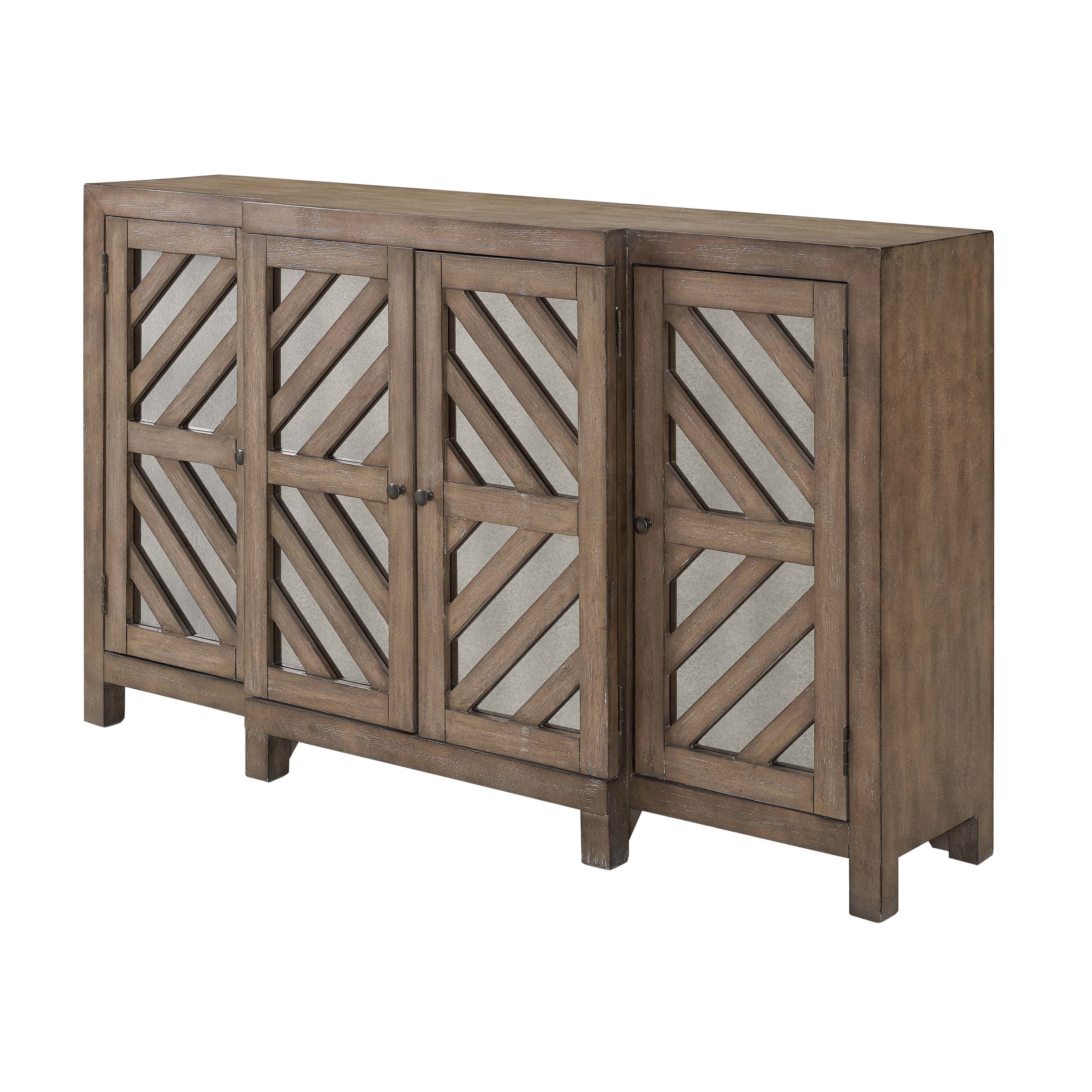 Union Rustic Lowrey Credenza With Popular Candide Wood Credenzas (View 18 of 20)
