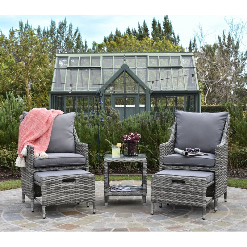 Vallauris 5 Piece Conversation Set With Cushions Pertaining To Well Liked Vallauris Sofa With Cushions (View 14 of 20)
