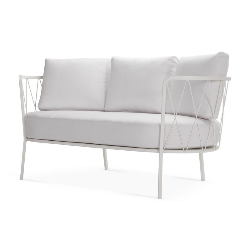 Vardin Loveseats With Cushions Pertaining To Recent Désirée Loveseat With Cushion – Vermobil (View 17 of 20)