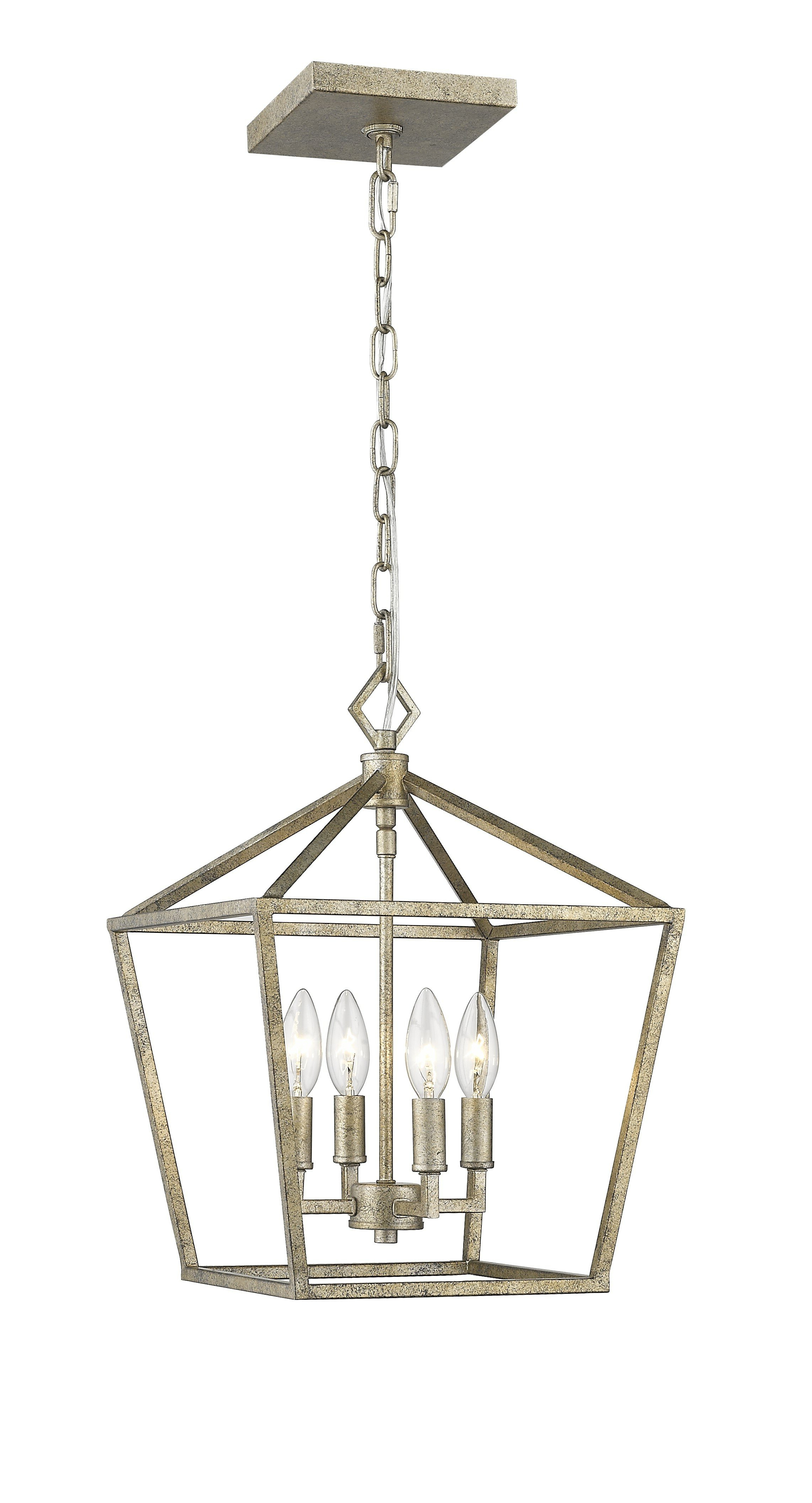 Varnum 4 Light Lantern Pendants For Most Up To Date Varnum 4 Light Lantern Pendant (View 15 of 20)