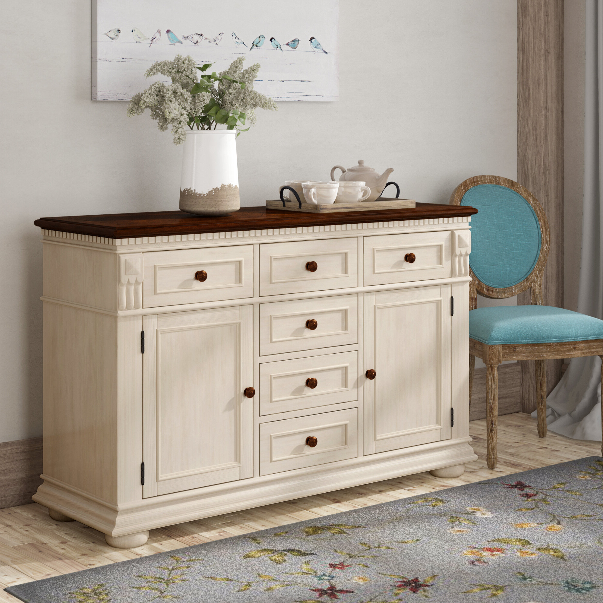 Veasley Sideboard Pertaining To Recent Pineville Dining Sideboards (View 14 of 20)