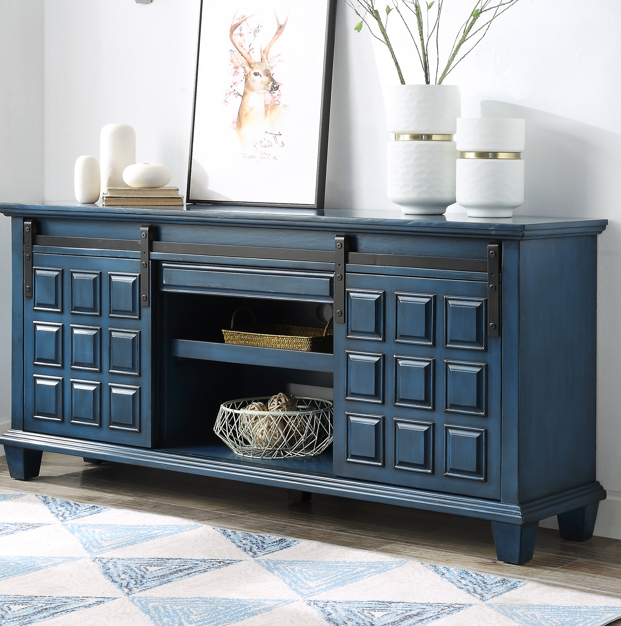 Velazco Sideboards In Well Known Gracie Oaks Burlison Credenza & Reviews (View 16 of 20)