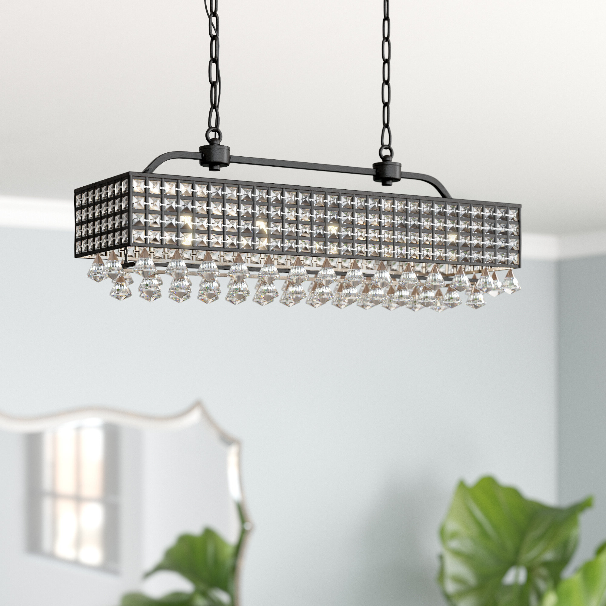 Verdell 5 Light Crystal Chandeliers Within 2019 Madilynn 5 Light Crystal Chandelier (View 16 of 20)