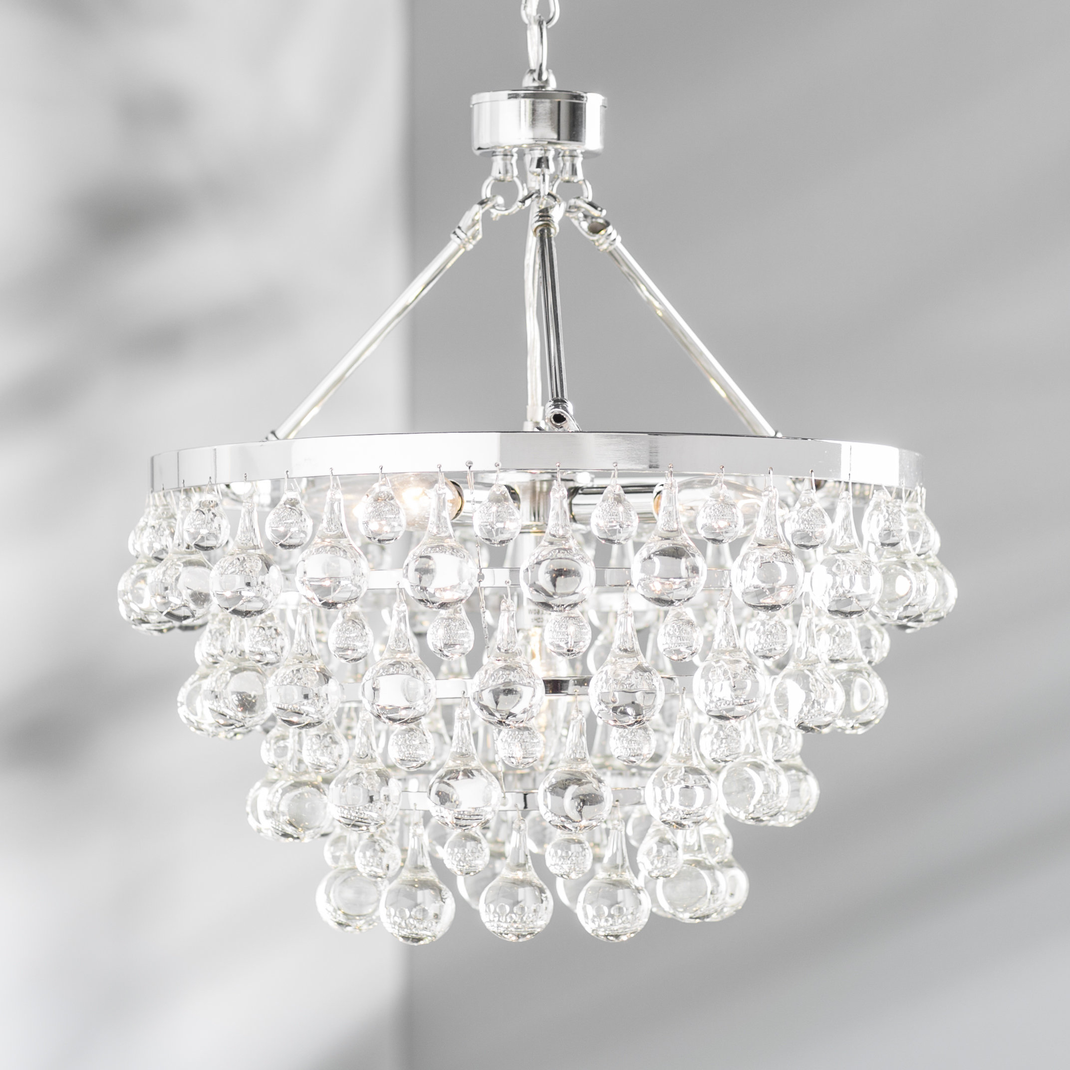 Verdell 5 Light Crystal Chandeliers Within Most Recent Ahern 5 Light Crystal Chandelier (Gallery 6 of 20)