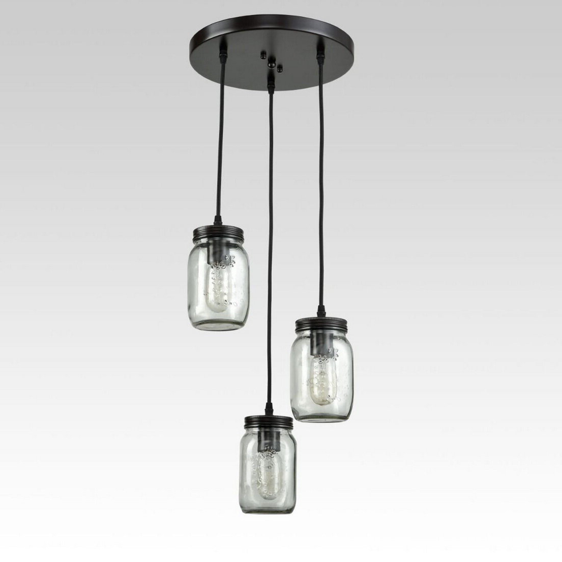 Vernice 3 Light Cluster Bell Pendants Inside Trendy Kastner 3 Light Cluster Pendant (View 12 of 20)