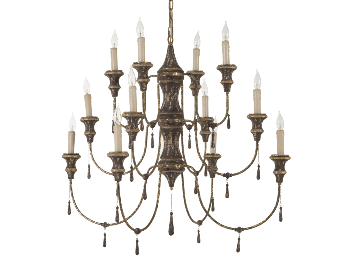 Vincent 5 Light Drum Chandeliers For Most Current Vincent Chandelier – Exquisite Living (View 10 of 20)