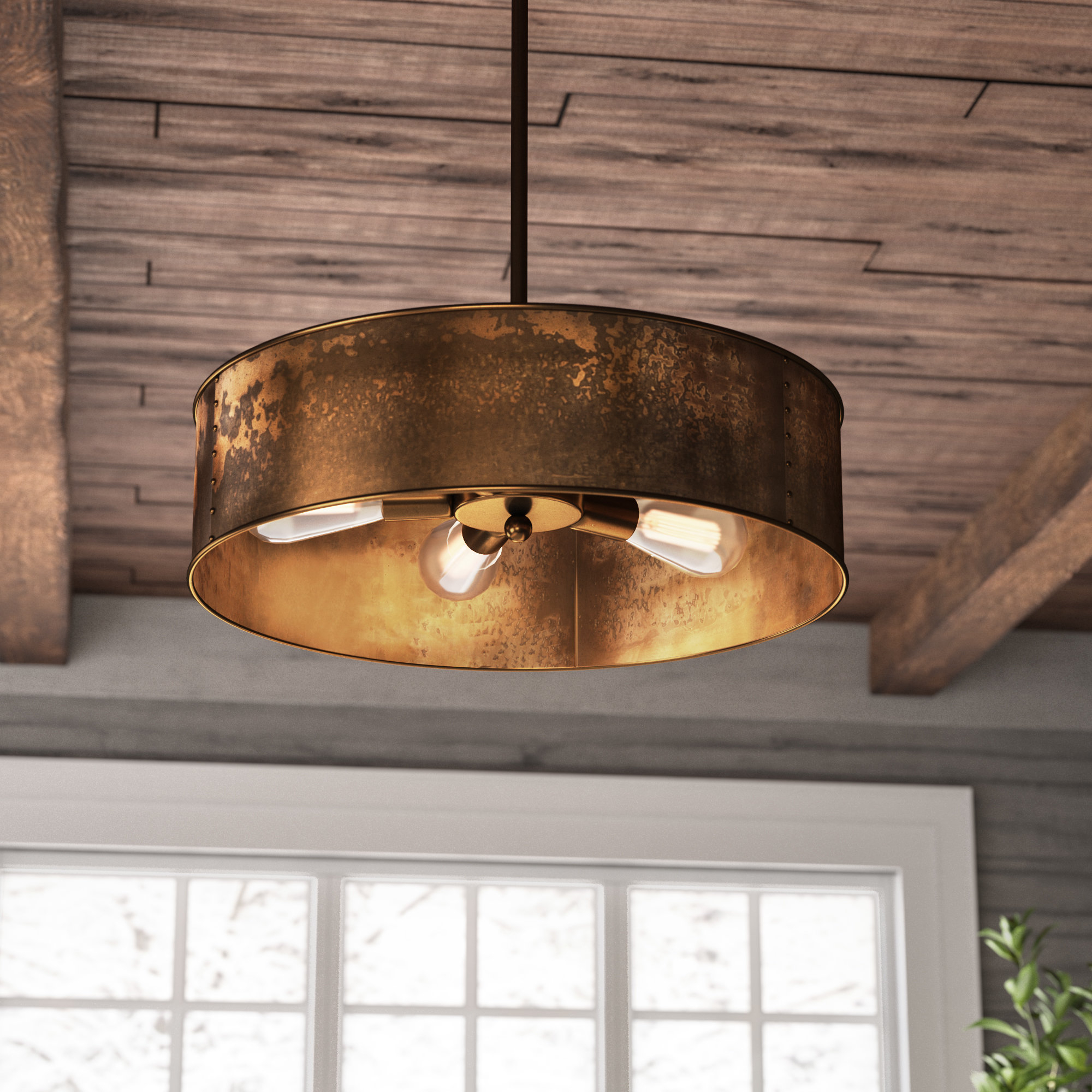 Vincent 5 Light Drum Chandeliers Intended For Favorite Vincent 4 Light Drum Chandelier (View 16 of 20)